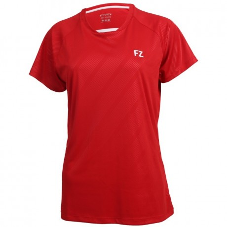 Tee-shirt Forza Hedda lady rouge
