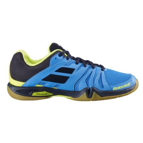 Chaussures Babolat Shadow Team men 2019 bleues et noires