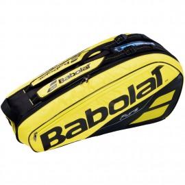 Thermobag Babolat Pure Aero X6 noir et jaune