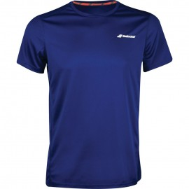 Tee-shirt Babolat Core Flag Club boy bleu marine