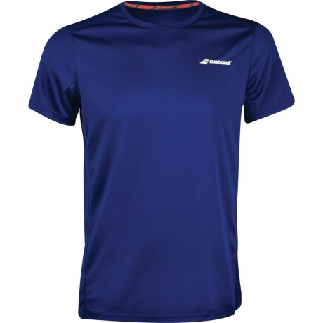 Tee-shirt Babolat Core Flag Club bleu