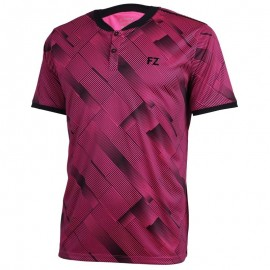 Polo Forza Hercules men rose et noir