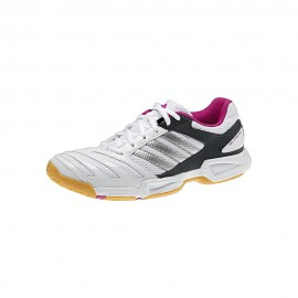 Chaussures Adidas BT Feather Team 2 lady noire et blanc