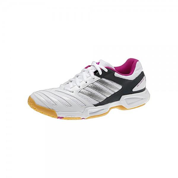 Chaussures Adidas BT Feather Team 2 lady noire et blanc