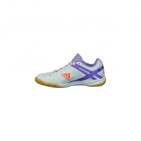 Chaussures Adidas BT Feather Team 2 lady blanche et violette
