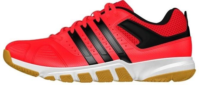 Chaussures de badminton Adidas Quickforce 7 men rouge