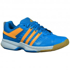 Chaussures Adidas Quickforce junior bleu