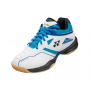 Chaussures Yonex Power Cushion 36 junior blanche et bleue