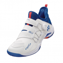 Chaussures Yonex Power Cushion 88 dial Infinity men blanc et bleu