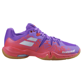 Chaussures Babolat Shadow Spirit lady violette et rose