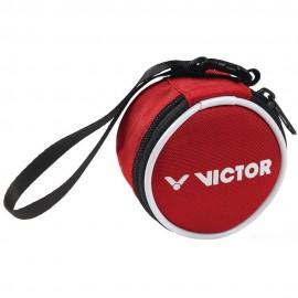 Porte-monnaie rond Victor rouge