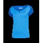 Tee-shirt Babolat play cap sleeve Girl bleu
