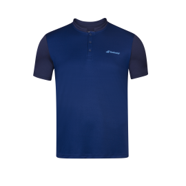 Polo Babolat play men bleu