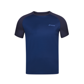 Tee-shirt Babolat play Crew Neck men bleu