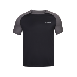 Tee-shirt Babolat play Crew Neck men noir