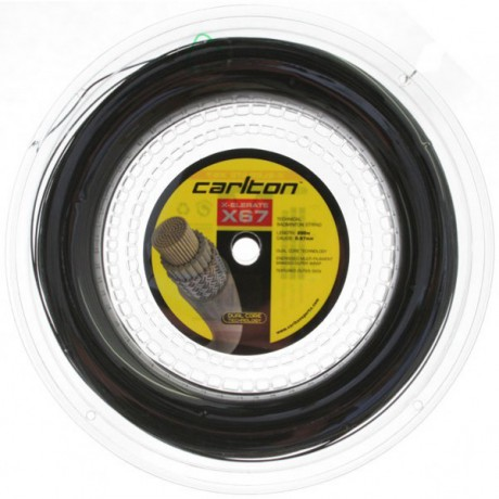 Bobine de cordage Carlton X-Elerate X67 noir