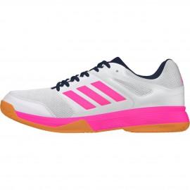 Chaussures Adidas Speedcourt Women Blanche et rose