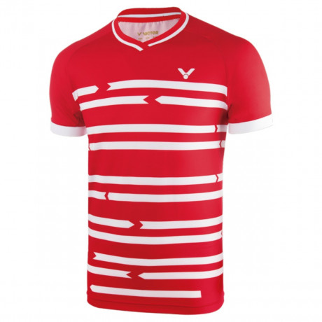 Tee-shirt Victor 6628 Denmark rouge