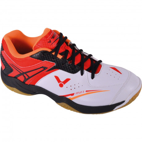 Chaussures Victor SH-A501 blanches et rouges