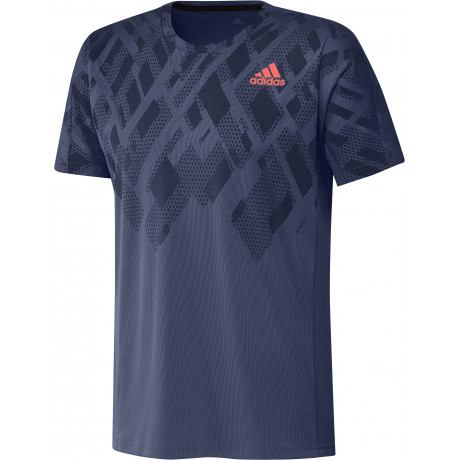 Tee-shirt Adidas Color Block men Indigo
