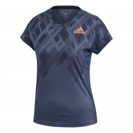 Tee-shirt Adidas Color Block lady Indigo