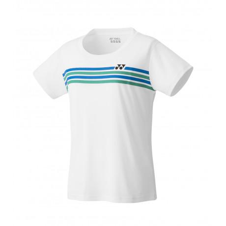 Tee-shirt Yonex Crew Neck Team YW0022EX Lady blanc