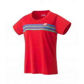 Tee-shirt Yonex Crew Neck Team YW0022EX Lady rouge