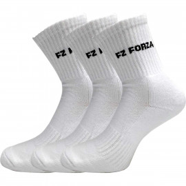 Chaussettes Forza Comfort longues blanches x3