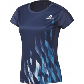 Tee-shirt Adidas Graphic women bleu