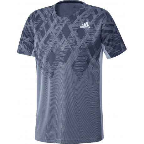 Tee-shirt Adidas Color Block men Bleu