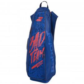 Backracq Babolat badminton x8 bleu et rouge