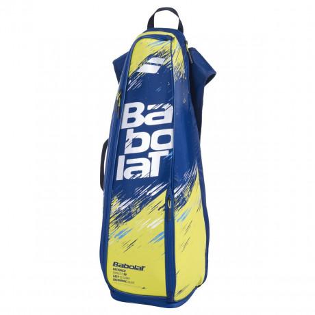 Backracq Babolat badminton x8 bleu et jaune