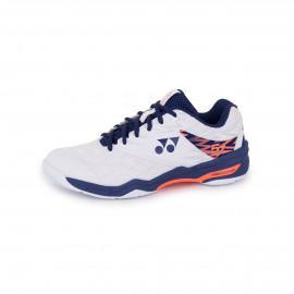 Chaussures Yonex power cushion 57 men blanc/bleu