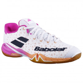 Chaussures Babolat Shadow tour 2021 women White / Pink