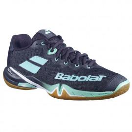 Chaussures Babolat Shadow tour 2021 women Black / Green