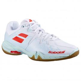 Chaussures Babolat Shadow Spirit 2021 women white / Light blue
