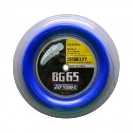Bobine de cordage Yonex BG 65 bleu