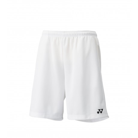 Short Yonex team men 15038 blanc