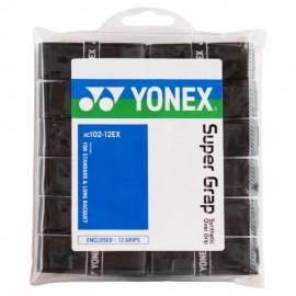 Surgrips Yonex AC102 x12 noirs