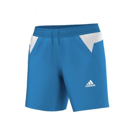 Short Adidas BT Graphic FW14 women bleu et blanc