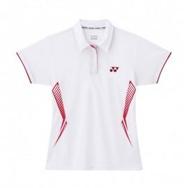 Polo Yonex Team lady 2260 blanc