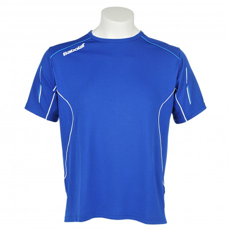 Tee-shirt Babolat Match Core Men bleu