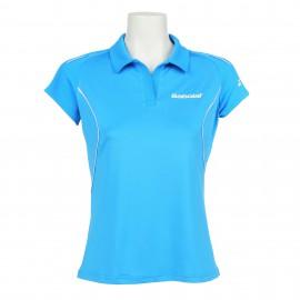 Polo Babolat Match Core Lady bleu