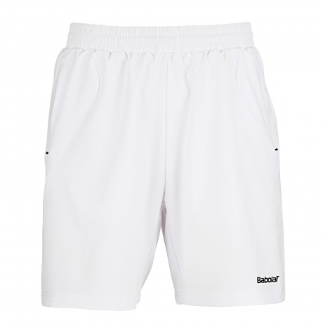 Short Babolat Match Core boy blanc