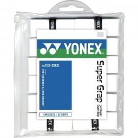 Surgrips Yonex AC102 x12 blancs
