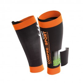 Protège-mollets de compression Compressport Pro Silicon R2