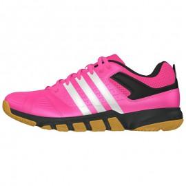 Chaussures Adidas Quickforce 5 women rose et noire