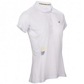 Polo Babolat Core Club Lady blanc