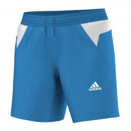 Short Adidas BT Graphic FW14 bleu et blanc