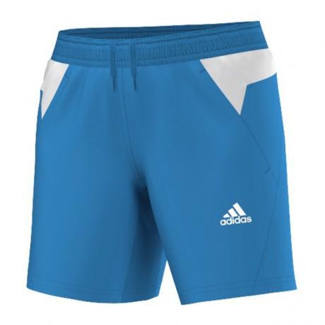 Short Adidas BT Graphic FW14 bleu et blanc